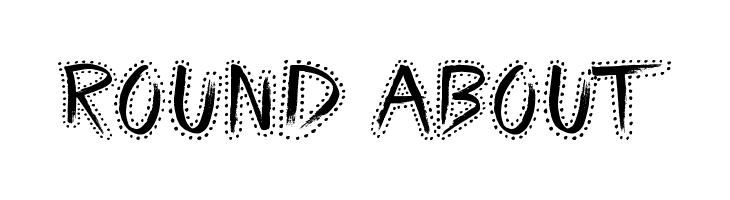 Round About  Скачать бесплатные шрифты