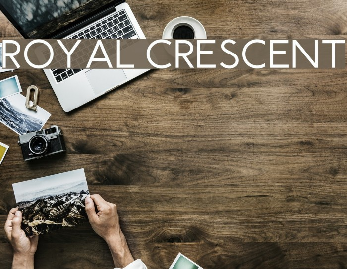 Royal Crescent Fonte examples