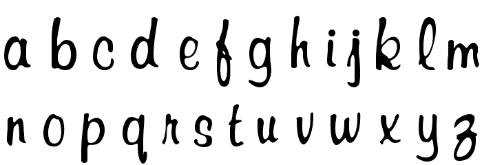 RSRichardMurray Font LOWERCASE
