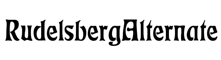 RudelsbergAlternate  Free Fonts Download