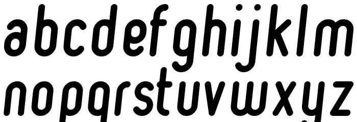 Ruler Bold Italic Font LOWERCASE