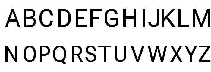RupeeSan Font UPPERCASE