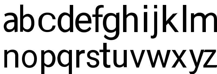 RupeeSan Font LOWERCASE