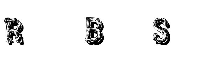 RusticBlackShadow  font caratteri gratis