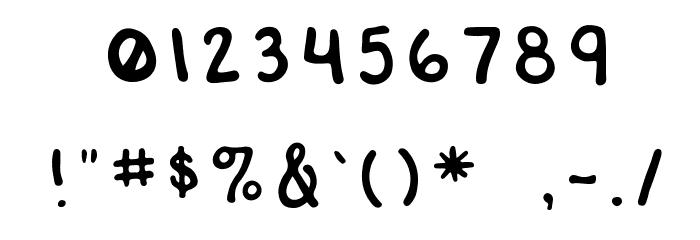 RWATangoCharlie-Slanted Шрифта ДРУГИЕ символов