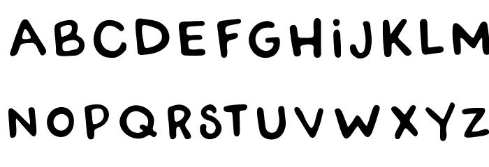 RWATangoCharlie-Slanted Font LOWERCASE