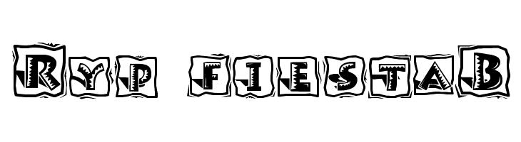 Ryp fiestaB  नि: शुल्क फ़ॉन्ट्स डाउनलोड