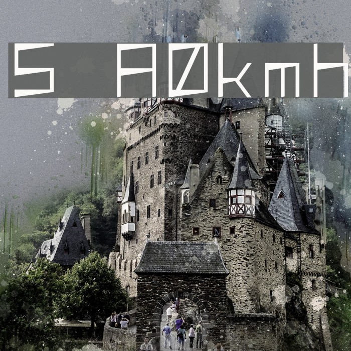 S  A0kmh Font examples