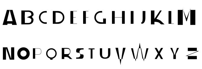 S-PHANITH FONTER ZZ フォント 大文字