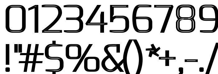 S-Phanith FONTER THIN Font OTHER CHARS