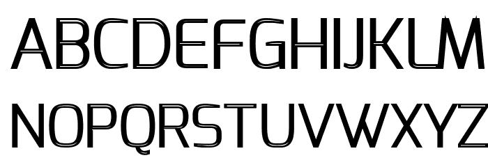 S-Phanith FONTER THIN Schriftart Groß