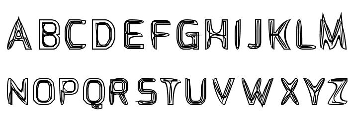S-Phanith FONTER WEEN Schriftart Groß