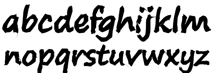 S-Phanith14 KH PENCIL Font LOWERCASE