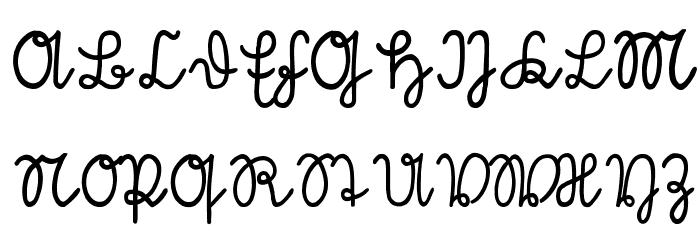 S�tterlin Font UPPERCASE