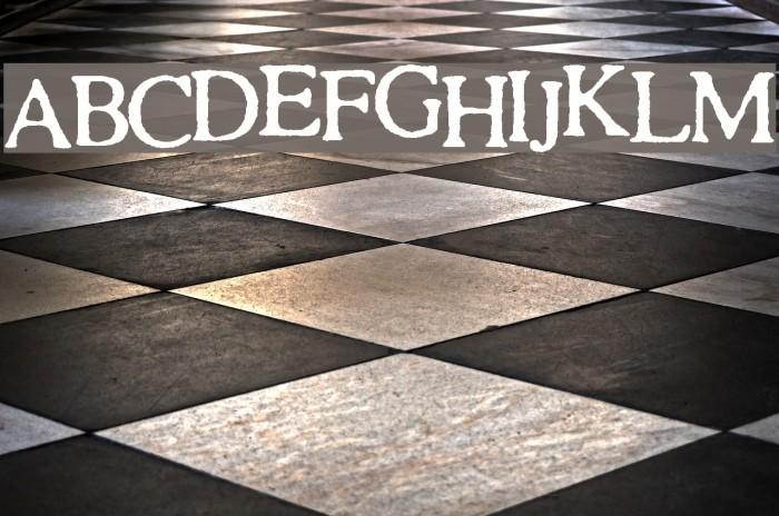 SA Cinta Font examples