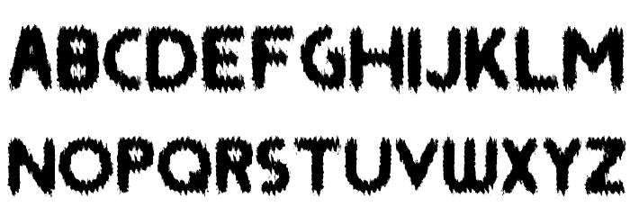 SAINT Font LOWERCASE