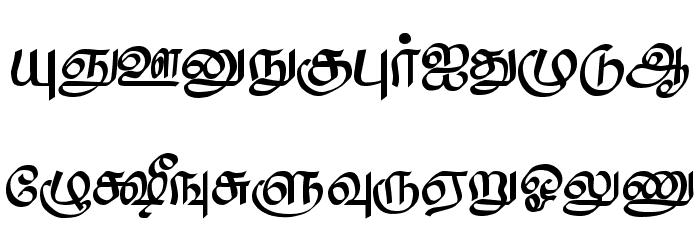 Saavaeri Regular Font Litere mari