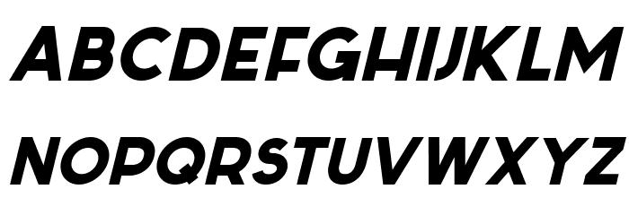 Sabado-Italic Font Litere mici