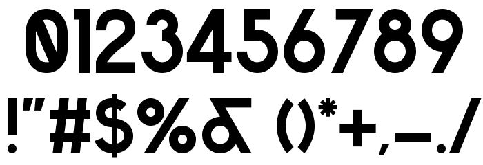 Sabado Font OTHER CHARS