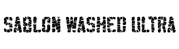 Sablon Washed Ultra  Free Fonts Download
