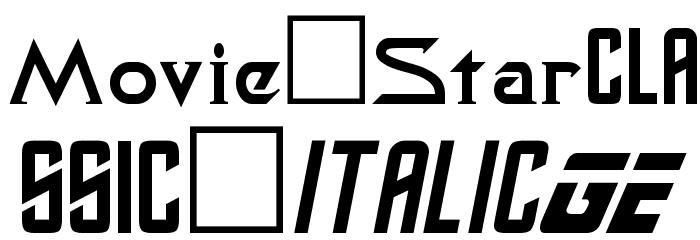 Safari Plain Font UPPERCASE