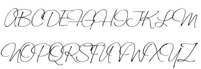 Saginaw  Light Font UPPERCASE