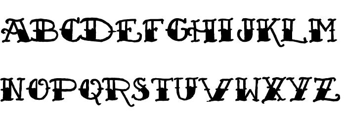 Sailor's Fat Tattoo Script Font - free fonts download