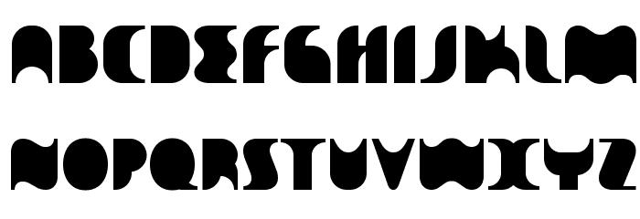 Sakiane Font UPPERCASE