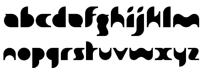 Sakiane Font LOWERCASE