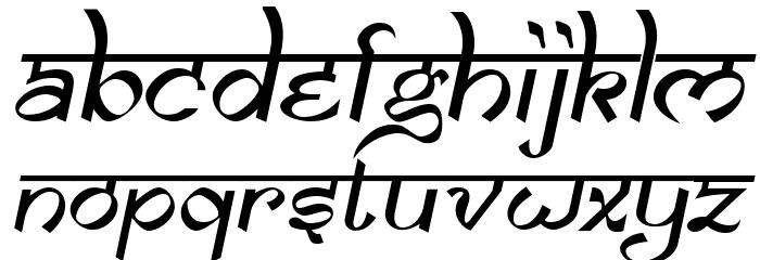 samarkan oblique font