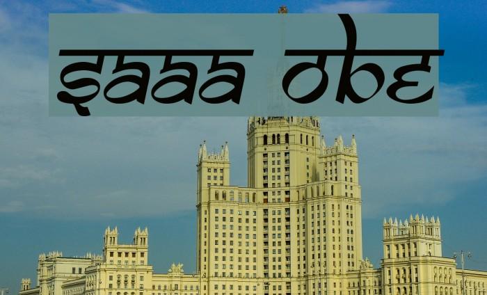 Samarkan truetype font free download  