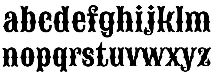 Sancreek Regular Font LOWERCASE