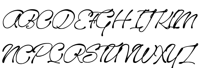 Sanctuary Playground Font UPPERCASE