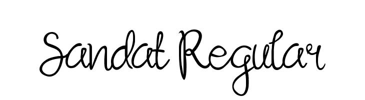 Sandat Regular  لخطوط تنزيل