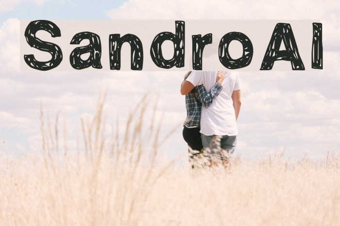 SandroAl Шрифта examples