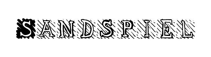 Sandspiel  Скачать бесплатные шрифты