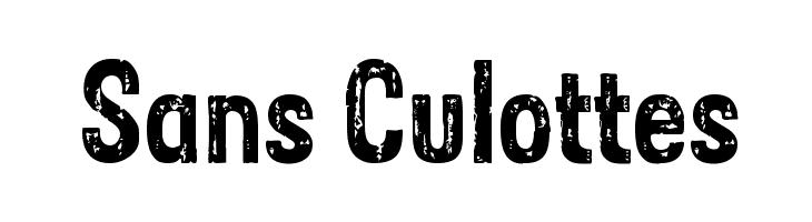 Sans Culottes  لخطوط تنزيل