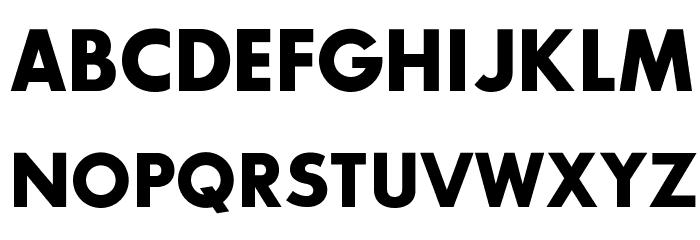 SansSerifBldFLF Font UPPERCASE