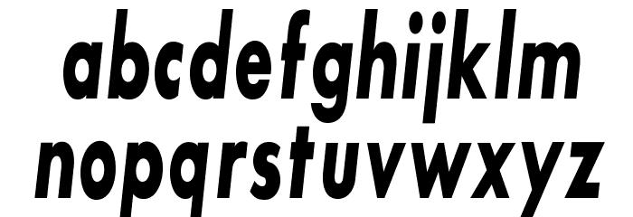 SansSerifBldFLFCond-Italic Fonte MINÚSCULAS