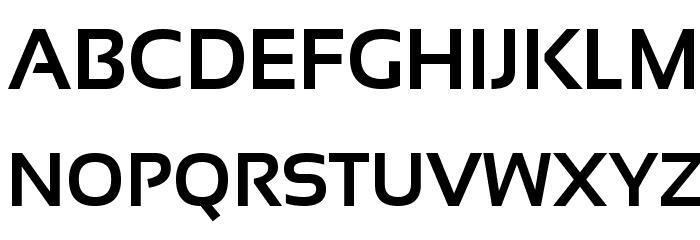 Sansation Bold Font UPPERCASE