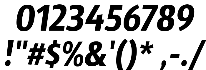 Sansus Webissimo Italic फ़ॉन्ट अन्य घर का काम