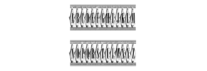 SardinesCanned Font UPPERCASE