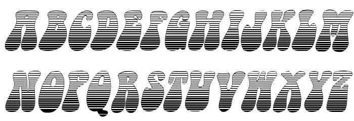Sargoo Italic Fonte MAIÚSCULAS