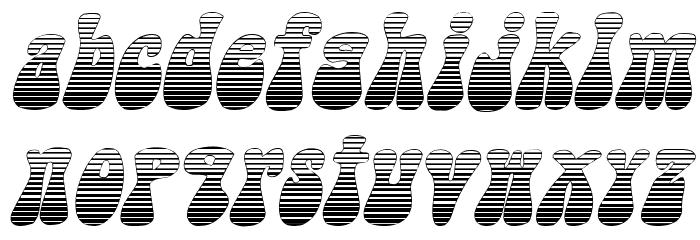 Sargoo Italic Fonte MINÚSCULAS