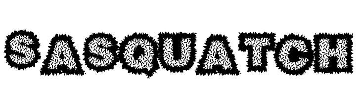 Sasquatch  नि: शुल्क फ़ॉन्ट्स डाउनलोड