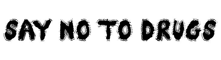 Say No To Drugs  नि: शुल्क फ़ॉन्ट्स डाउनलोड