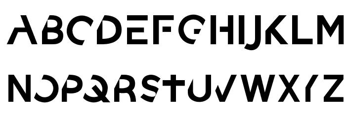 sanctum Font UPPERCASE