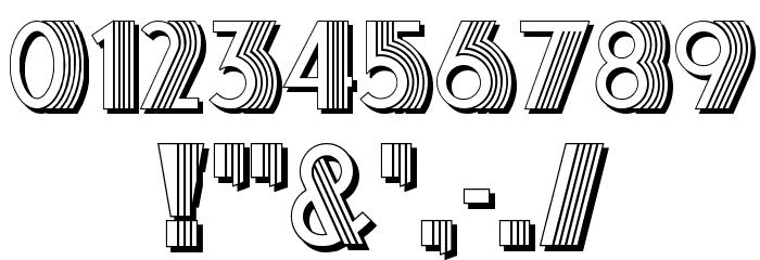 Schaeffer Font OTHER CHARS