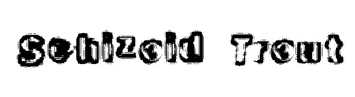 Schizoid Trout  Free Fonts Download