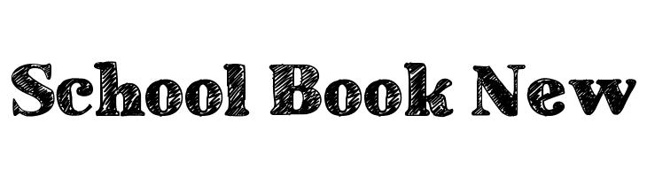 School Book New  Free Fonts Download